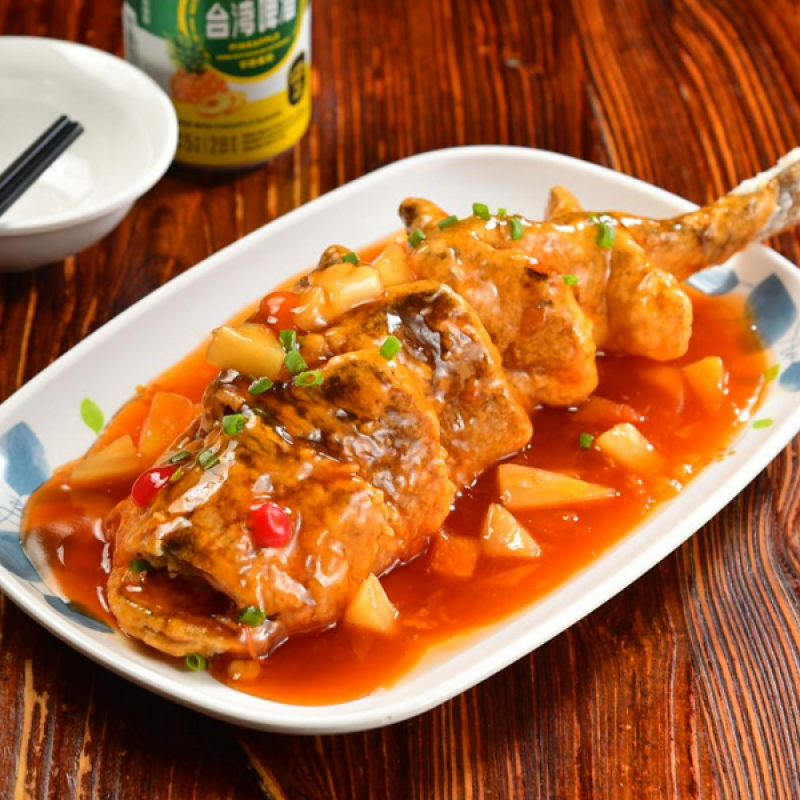 Yellow Croaker with Sweet and Sour Sauce