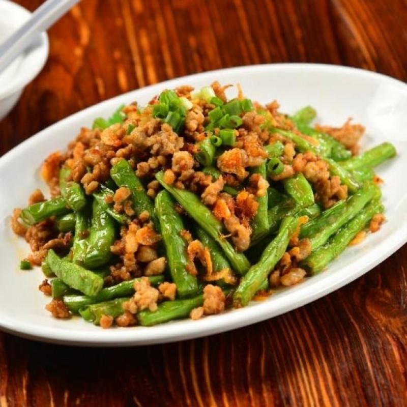 Stir-Fried Runner Beans