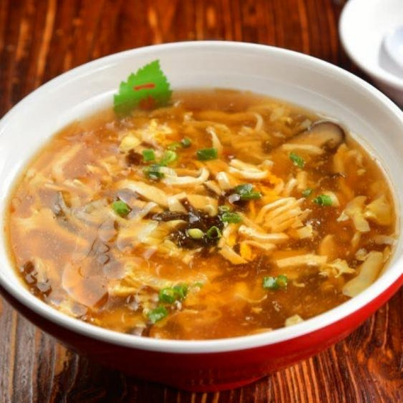 Taiwanese Hot and Sour Soup